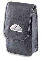 Camera Case ~ Makemo BLACK Leather Model 10 - 26457 - SPECIAL