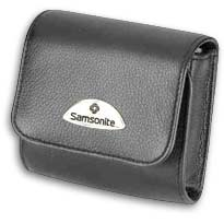 Camera Case ~ Makemo BLACK Leather Model 16 - 26447 - SPECIAL
