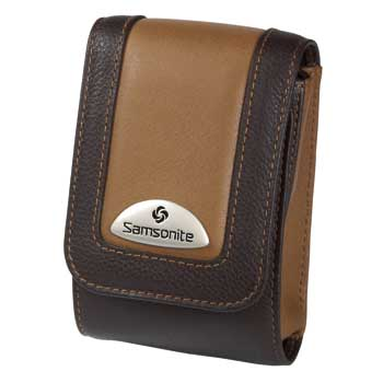 Samsonite Camera Case ~ Makemo BROWN Leather Model 50 - 28080