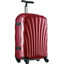 Cosmolite Spinner Case 79cm Red + Free Luggage