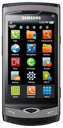 S8500 Wave Mobile Phone SIM Free - Ebony Grey
