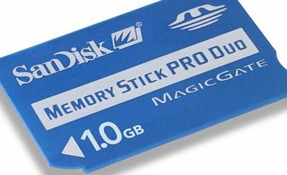SanDisk 1GB Memory Stick Pro Duo card