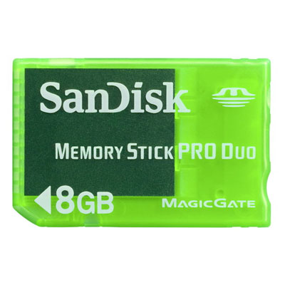 8GB MS Pro Duo Gaming