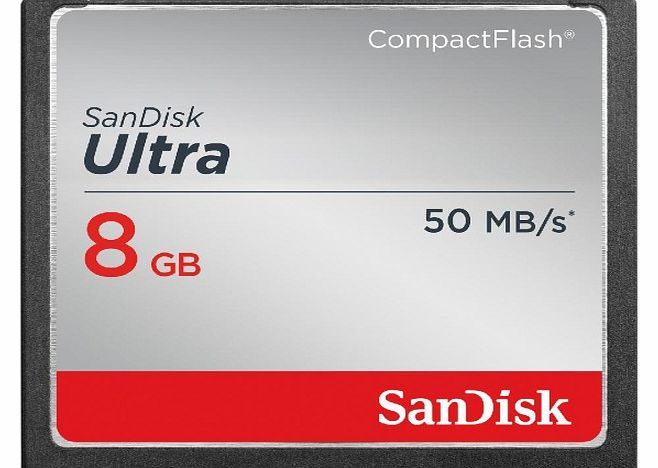 Sandisk CompactFlash Ultra memory card - 8 GB