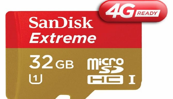 Sandisk Extreme - Flash memory card ( microSDHC