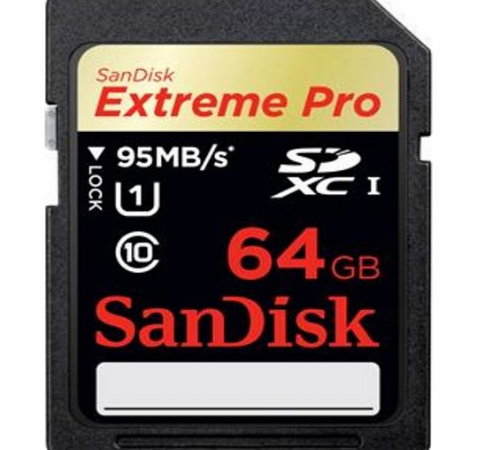 Sandisk Extreme Pro Sdsdxpa-064G-X46 64 Gb Secure