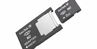 SanDisk Memory Stick M2 to standard MS Pro Duo adapter (COL)