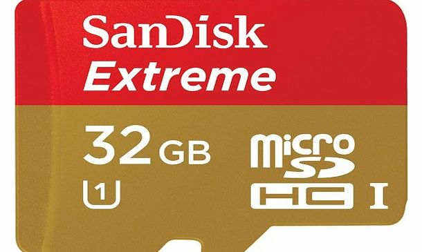 Sandisk microSDHC UHS-I memory card - 32 GB - Class 10