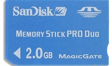 SanDisk SDMSPD-002G-B35 2 GB Pro Duo Memory Stick with MagicGate