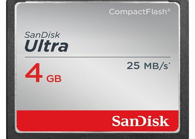 Sandisk Ultra - Flash memory card - 4 GB - CompactFlash