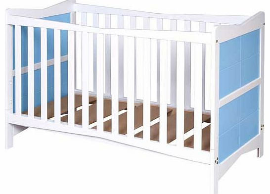 Kitty Cot Bed - Blue and White