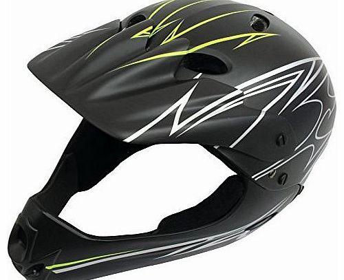 BMX HELMET. FULL FACE MATT FINISH 54-58CM.