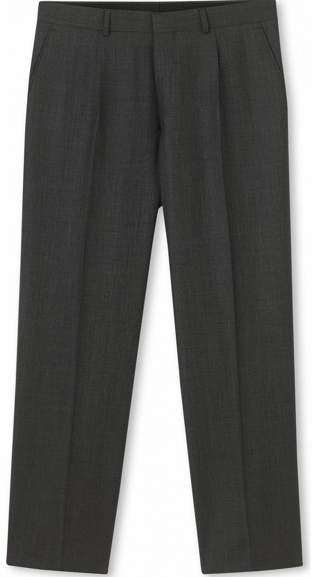 Savile Row Company Grey Microdot Classic Fit Trouser 42`` 36``