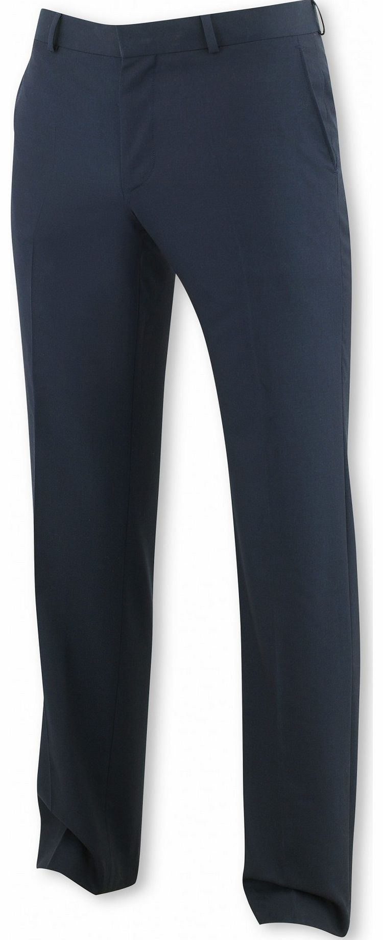 Savile Row Company Navy Suit Trouser 34`` 36`` Unfinished