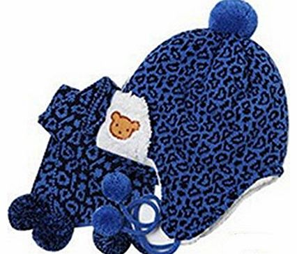 - Baby Winter Hat Child Hat Leopard Print Hat Perimeter