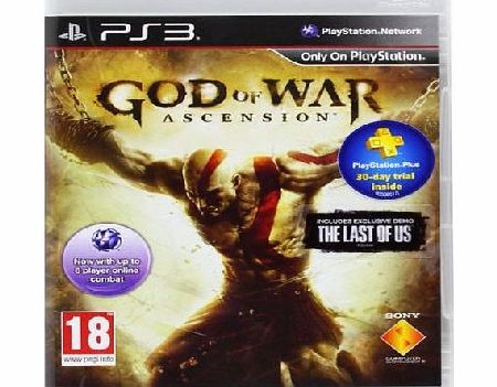 God of War Ascension on PS3