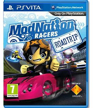 ModNation Racers Road Trip on PS Vita