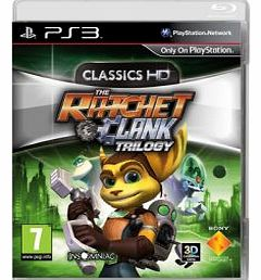 Ratchet & Clank HD collection on PS3