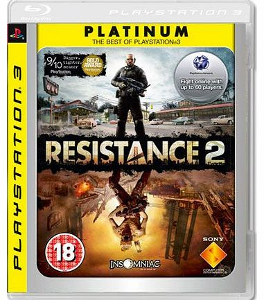 Resistance 2 - Platinum on PS3