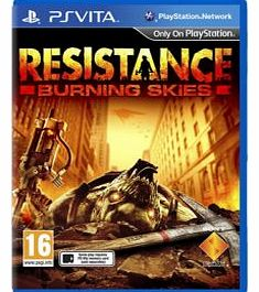 Resistance Burning Skies on PS Vita