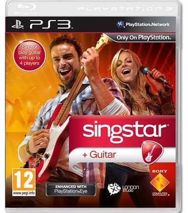 Singstar Guitar (Software Only) on PS3