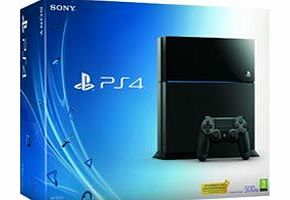 Sony PlayStation 4 Console on PS4