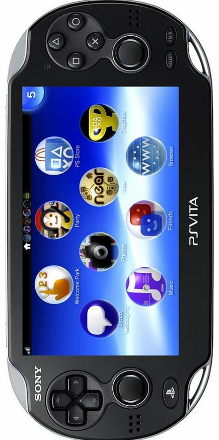 Sony Playstation Vita (Wi-Fi Model) on PS Vita