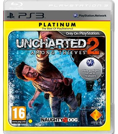 Uncharted 2: Among Thieves (Platinum) on PS3