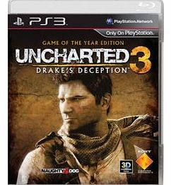Uncharted 3 Game of The Year Edition on PS3