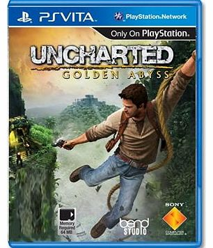 Uncharted Golden Abyss on PS Vita