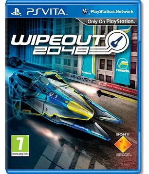 Wipeout 2048 on PS Vita