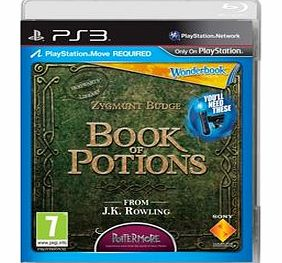 Wonderbook Book of Potions on PS3