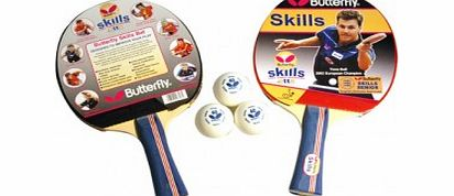 Boll Skills 2 Player Set Table Tennis