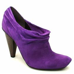 Female Anette Slouch Shoe Boot Suede Upper ?40+ in Purple