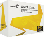 500GB Seagate Barracuda SATA II 32MB Cache