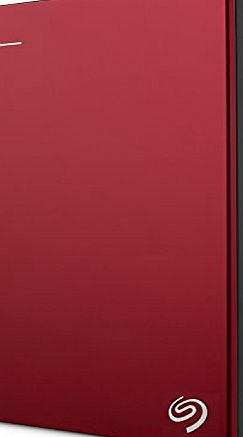 Backup Plus Portable 1TB Hard Drive - Red