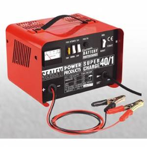 Sealey Heavy Duty Electronic Battery Charger