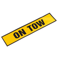 Magnetic Sign andquotON TOWandquot