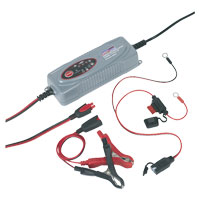 Compact Auto Digital Battery Charger - 5-Cycle 12V