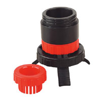 Universal Drum Adaptor fits SOLV/SF to Plastic Pouring Spouts