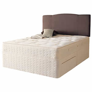 Sealy backcare elite 4ft sml double divan bed review for Divan 4 foot bed