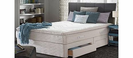 Sealy Silver Romance 4ft Small Double Divan Bed Review