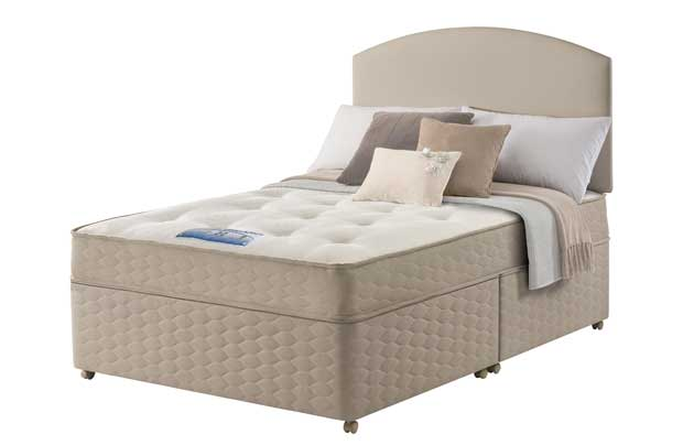 Sealy unwind backcare double divan bed review compare for Divan unwind
