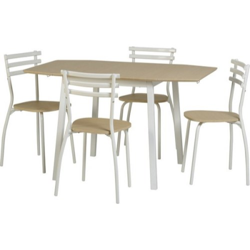 Langley Drop Leaf Dining Set in Beech