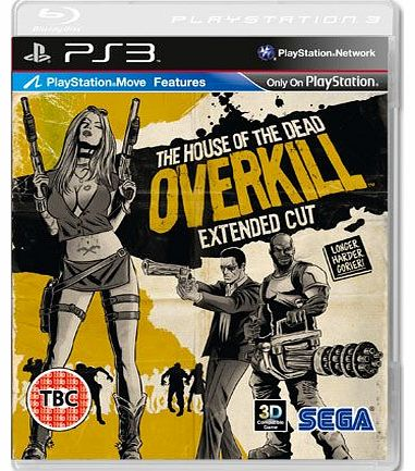 House of The Dead Overkill (Move Compatible) on