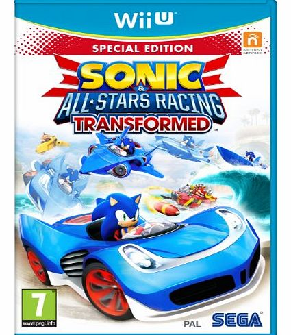 Sonic & All-stars Racing Transformed on Nintendo