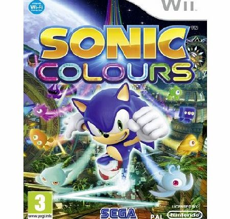 Sonic Colours on Nintendo Wii