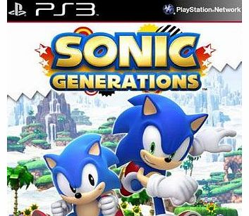 Sonic Generations on PS3