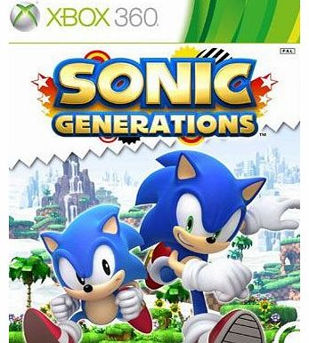 Sonic Generations on Xbox 360
