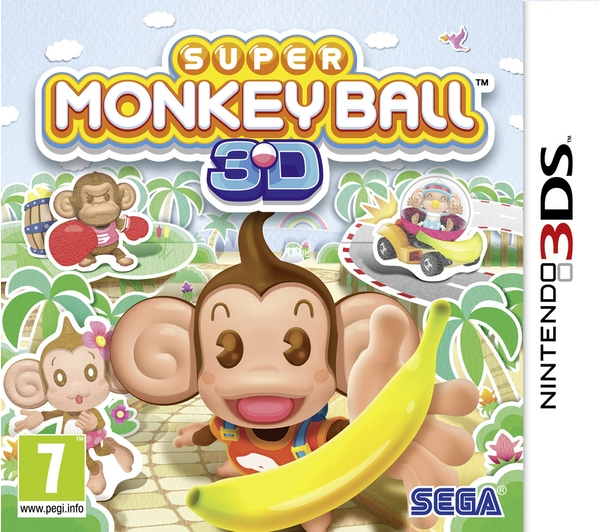 Super Monkey Ball 3D NDS